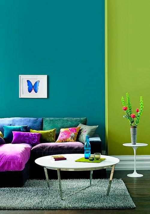 Сочетания цветов в мебели