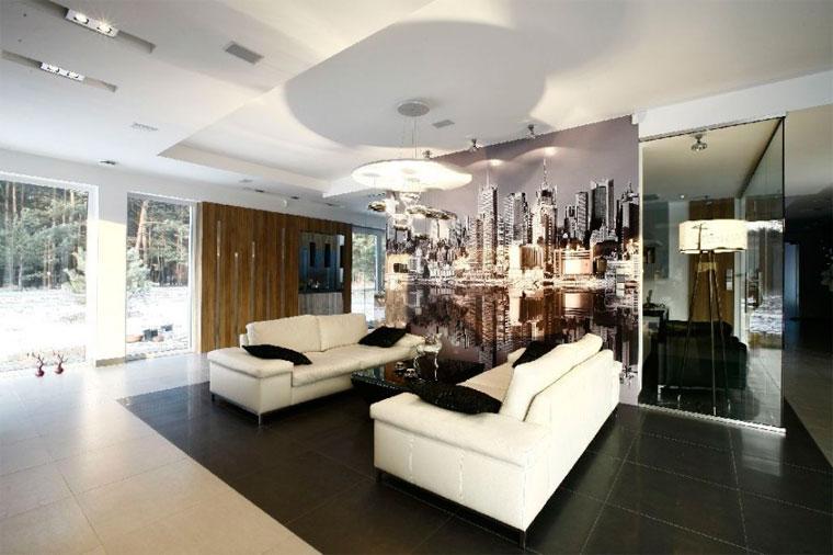 Два дивана в гостиной – варианты расположения, фото