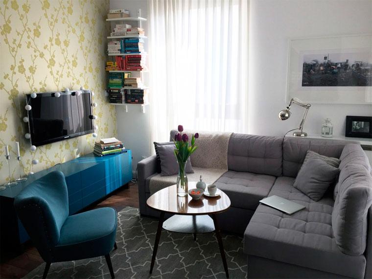 Зонирование гостиной 9 советов