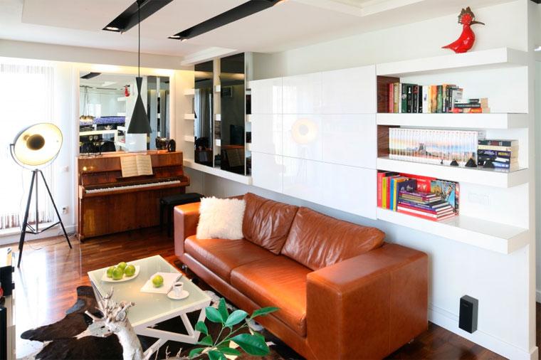 Небольшой зал 18 кв м – как расставить мебель, фото