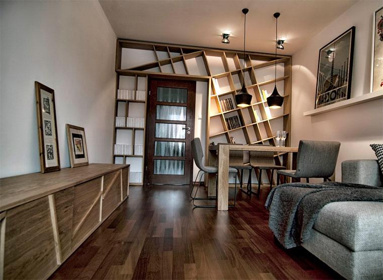 ассиметричная мебель