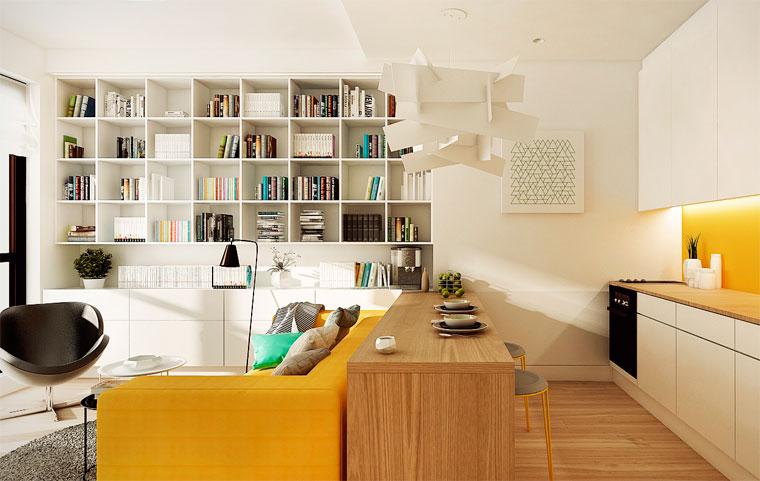 Зал квадратный – как расставить мебель
