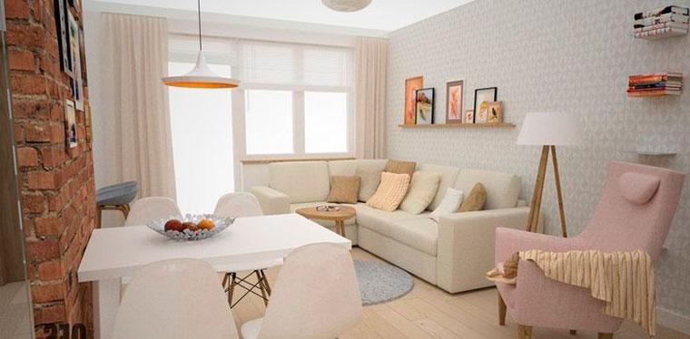Как расставить мебель в зале 20 кв.м, фото