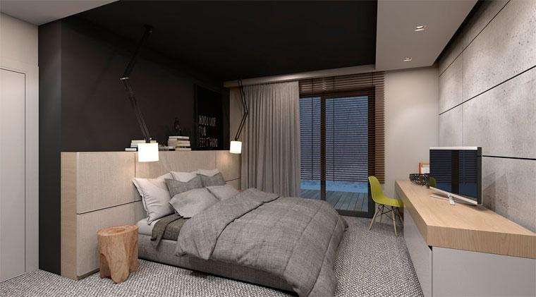 Удобное и эстетичное решение – подвесные светильники над кроватью, фото