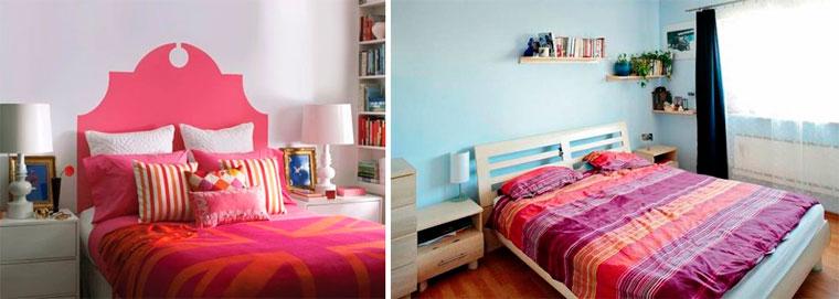 Как расставить мебель в спальне, фото