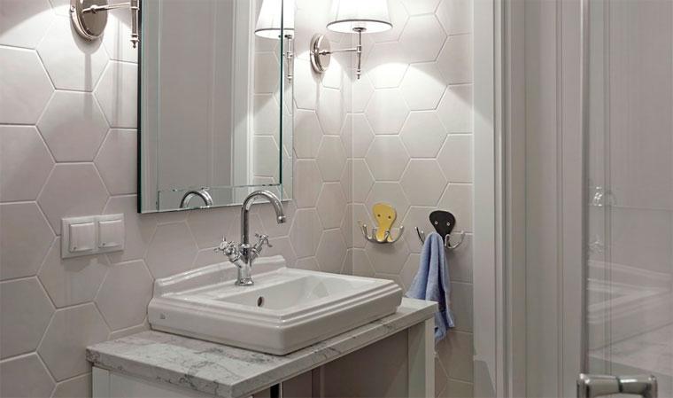 Маленькая плитка для маленькой ванной