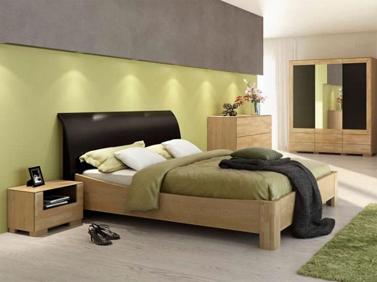 Спальня в серых тонах – фото
