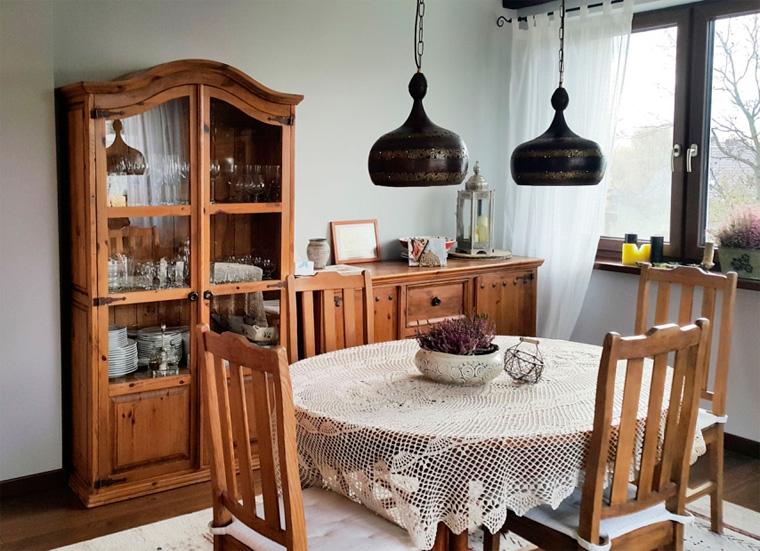 Кухня-гостиная в стиле шале, фото