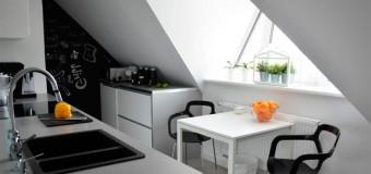 Компактные кухонные столы со стульями, как выбрать