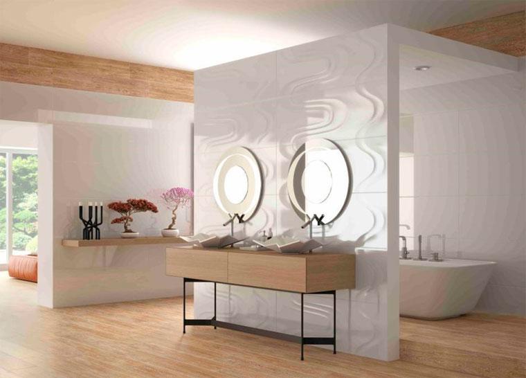 Современный дизайн ванной комнаты 2017