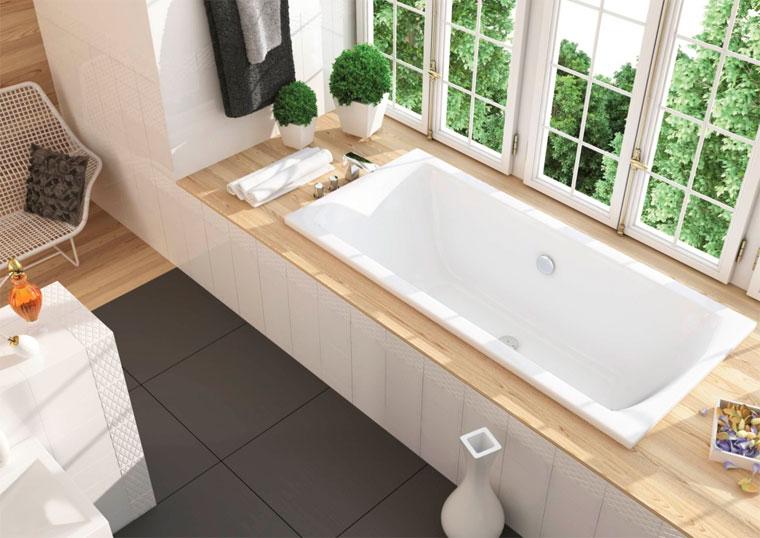 Встроенные ванны