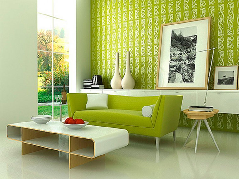Обои зеленые, фото