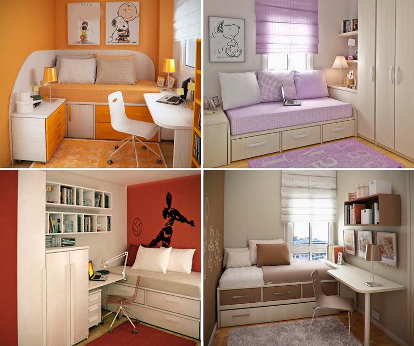Как сделать дизайн для маленькой комнаты