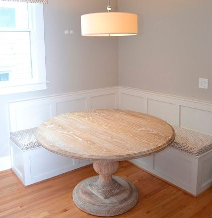 диванчик для круглого стола