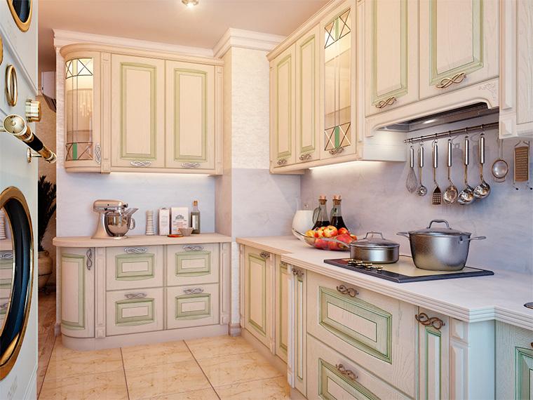 Интерьер кухни в английском стиле, фото