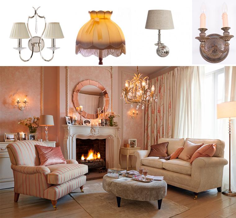 Лампы в английском стиле