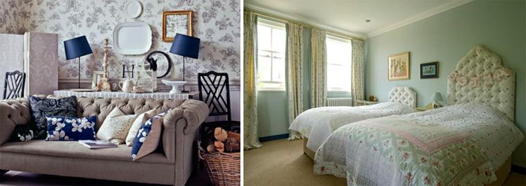 Английский стиль в интерьере квартиры, фото цветовых решений