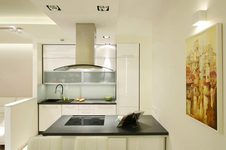 Кухня в светлых тонах – дизайн, фото