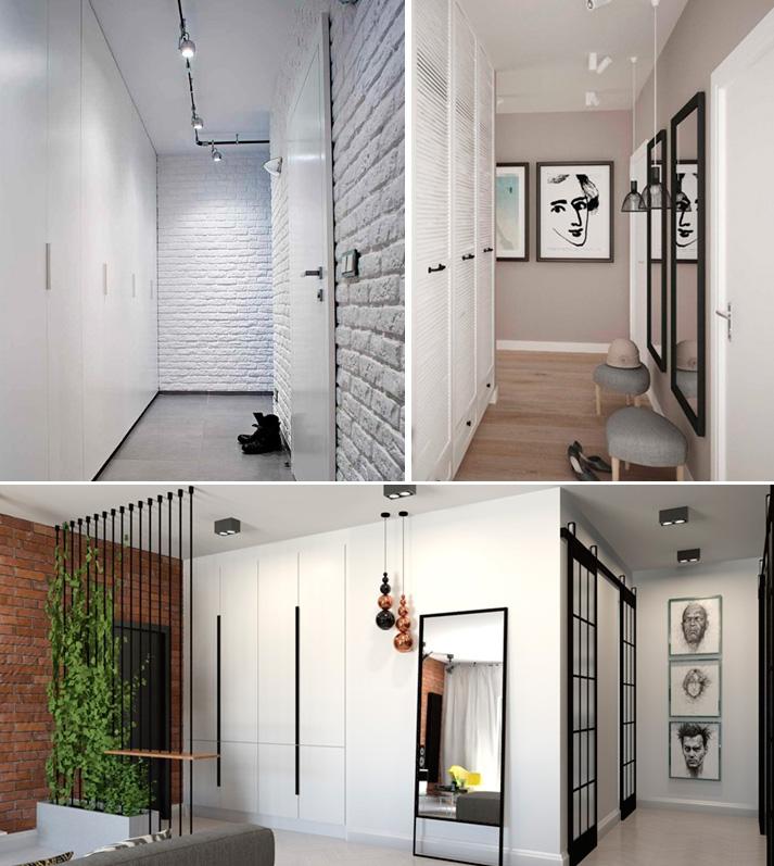 Прихожие в коридор в стиле лофт, фото