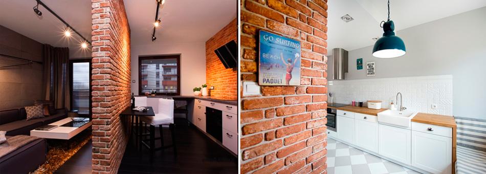 Декоративная отделка углов стен в квартире – фото
