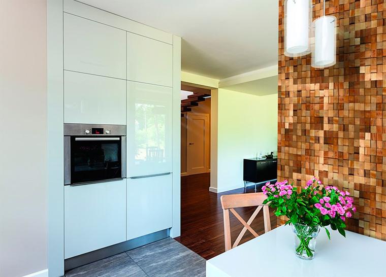 Декоративная отделка стен в квартире – фото