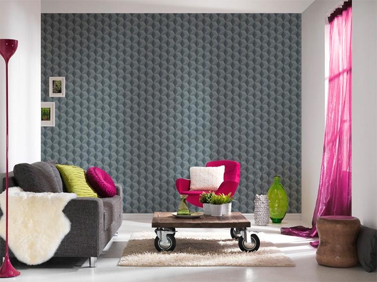 Дизайн гостиной в серых тонах, фото