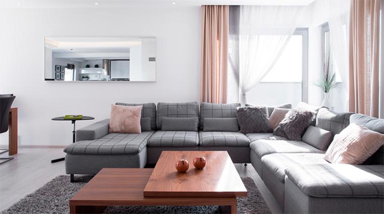 Серая мебель для гостиной – что выбрать?
