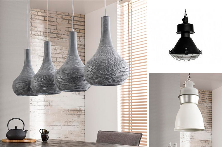 Светильники в стиле лофт, фото