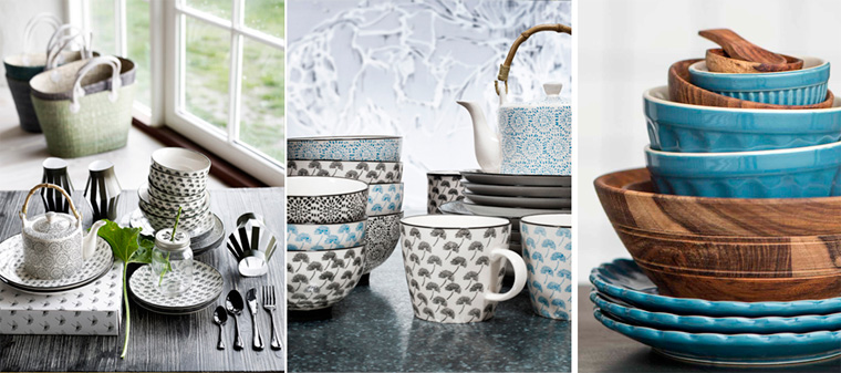 Посуда в скандинавском стиле, фото