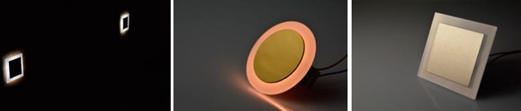 Плинтусные светодиодные светильники для прихожей и коридора, фото