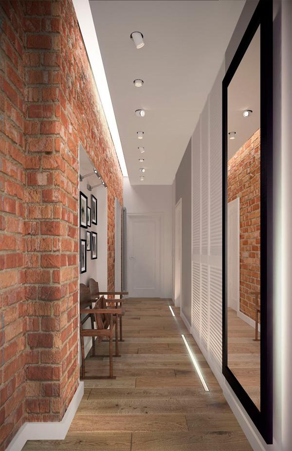 Светильники в длинный и узкий коридор