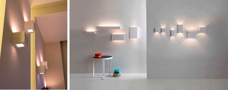 Гипсовые настенные светильники для прихожей, фото