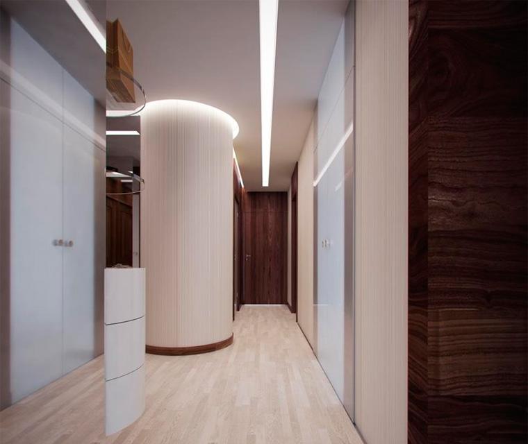 Светильники в коридор и прихожую необычной формы