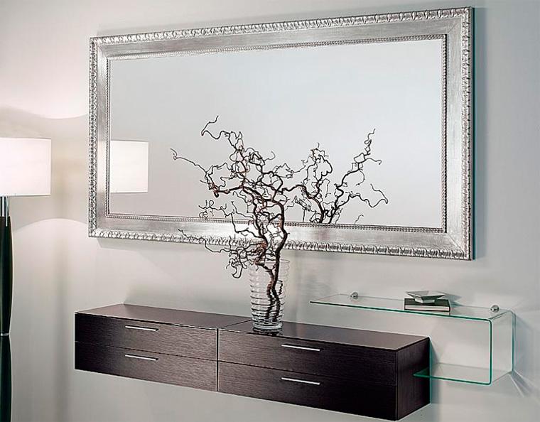 Зеркало с полкой в прихожую