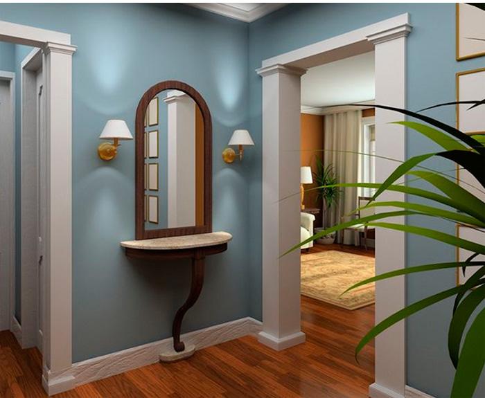 деревянные – для классической прихожей