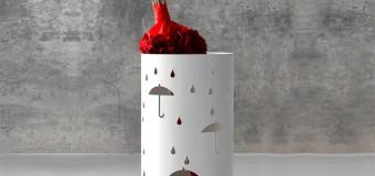 Подставка для зонтов в прихожую
