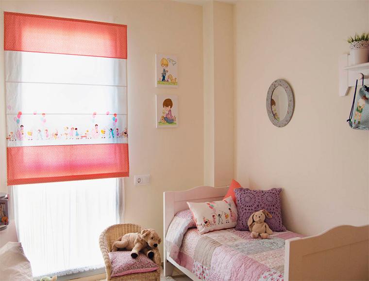 Скандинавский дизайн детской комнаты для двух девочек, фото