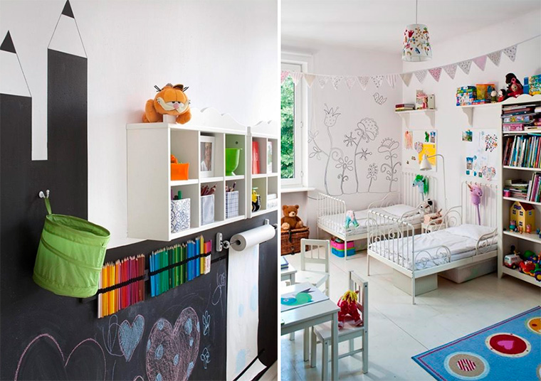 Комната для юных художниц