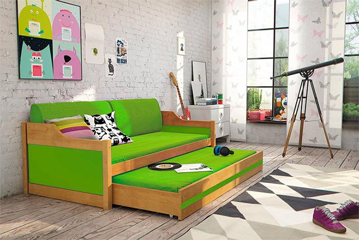 Модель с диванными подушками