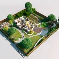 Ландшафтный дизайн загородного дома своими руками