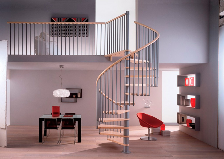 Спиральные или винтовые лестницы