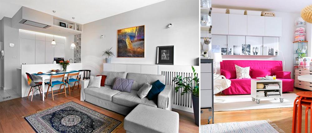 Цветовая палитра интерьера и освещение
