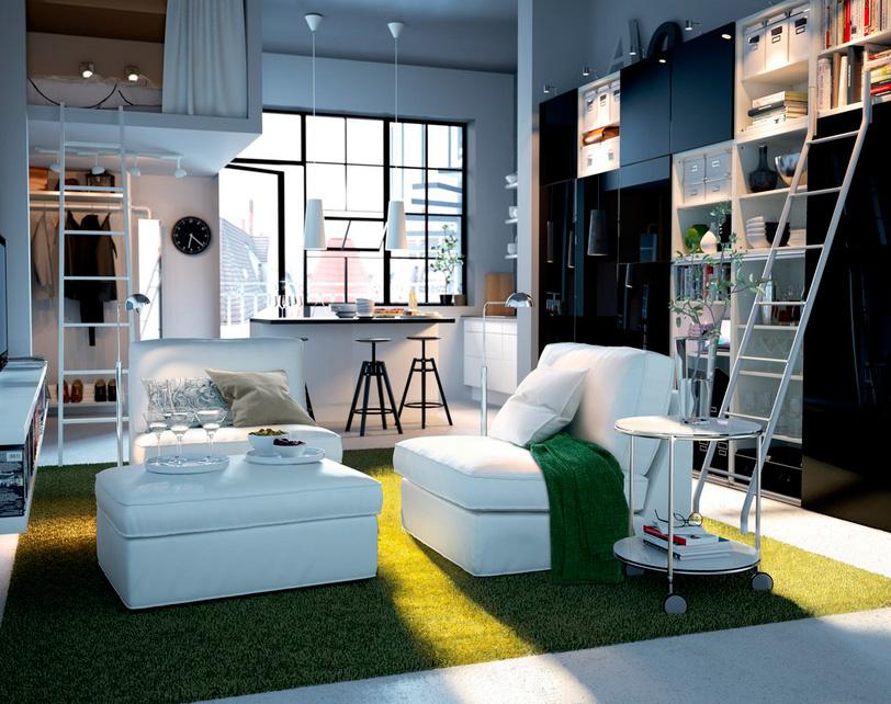 Как можно расставить мебель в однокомнатной квартире с ребенком?
