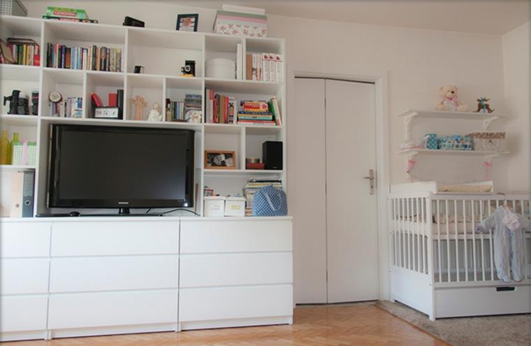 Как расставить мебель с местом для новорожденного ребенка