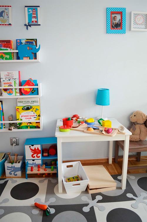 Обустраиваем место для дошкольника