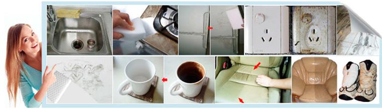 Что можно помыть меламиновой губкой?