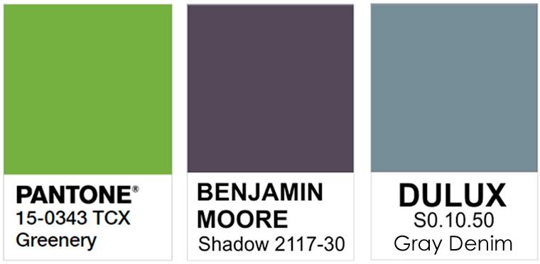 Какие цвета будут модными в 2017 году