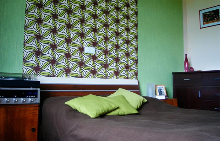 Обои для спальни, дизайн 2017 года, фото