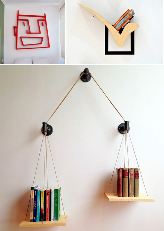 Необычные формы и идеи для молодежной комнаты