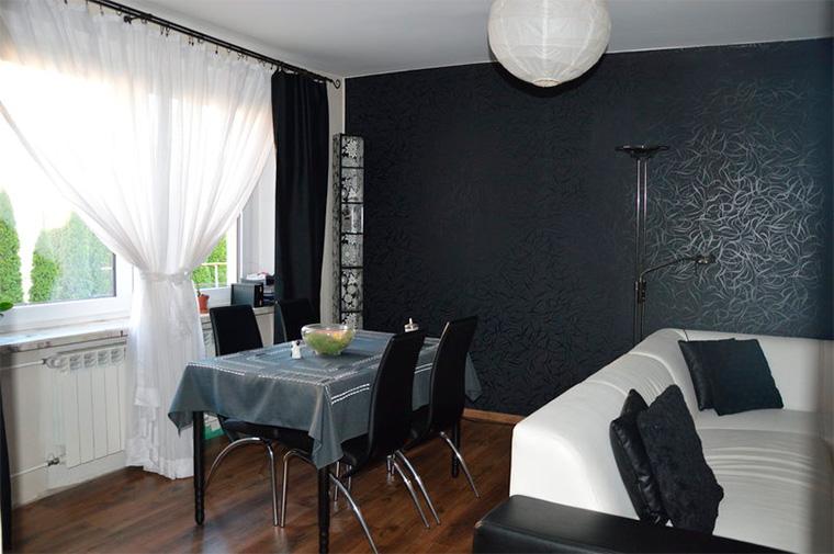 Элегантные черные стены